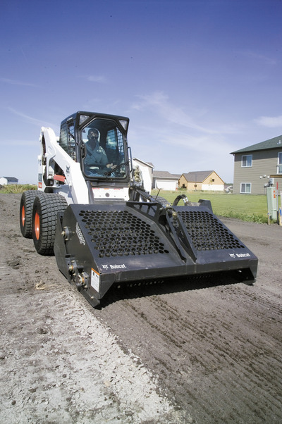 Landscape Rake For Bobcat : Landscape rake attachment